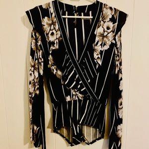 Novella Royals Kimono Sleeve Body Suit